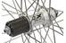 """Mavic Baghjul MTB hjul 26"""" med Deore XT nav sølv"""